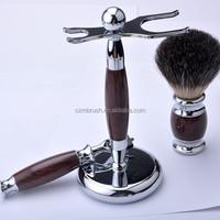 High Quality OEM Private Label Shaving Kit Gift Set for Men with badger brushes