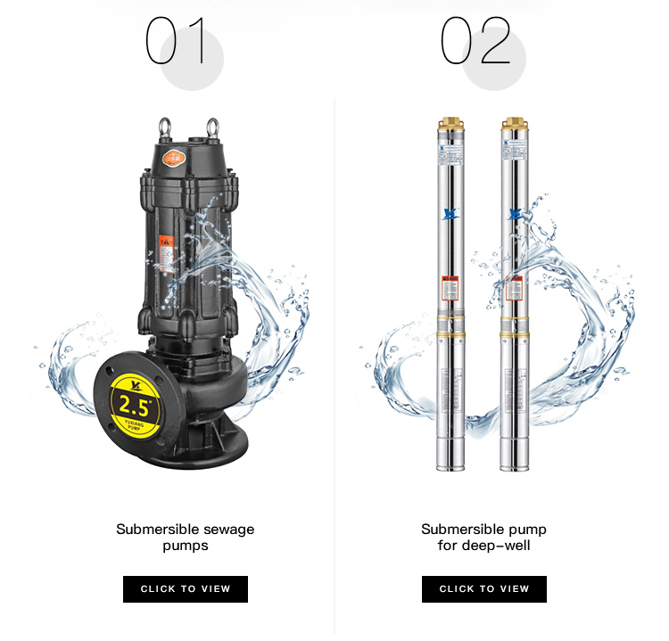 QDX Electric Centrifugal Submersible Water Pump For Clean Water