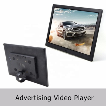 Hot selling 15.6' inch wall mounted digital signage lcd advertising video player for business