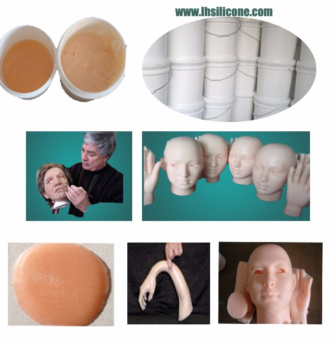 LH228800 platinum cure life casting silicone rubber for mask making