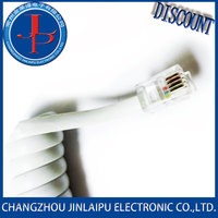 Changzhou JLP Copper Connector Cable for Telephone on sale