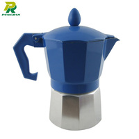 aluminum espresso coffee maker machine coffee pot one cup tea and coffee maker