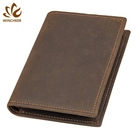 Hot selling classic bifold wholesale wallet men genuine leather with great price
