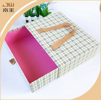 Fashion gift boxes exquisite drawer box specialty paper gift box with ribbon