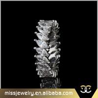 Missjewelry AAA cz paved white zircon 14k white gold diamond ring price, engagement ring diamond