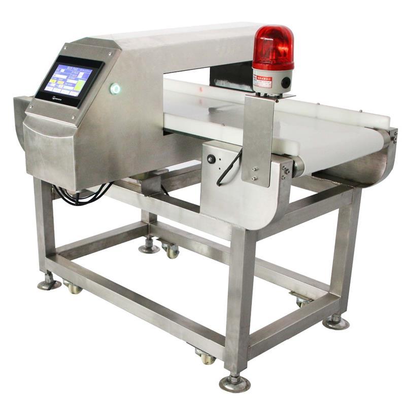 International Food Sanitation Standard Industrial belt conveyor tunnel Metal Detector