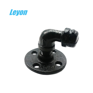 industrial retro wall mount iron pipe black retro flanges cast iron flange bell mouth dorma glass patch fittings