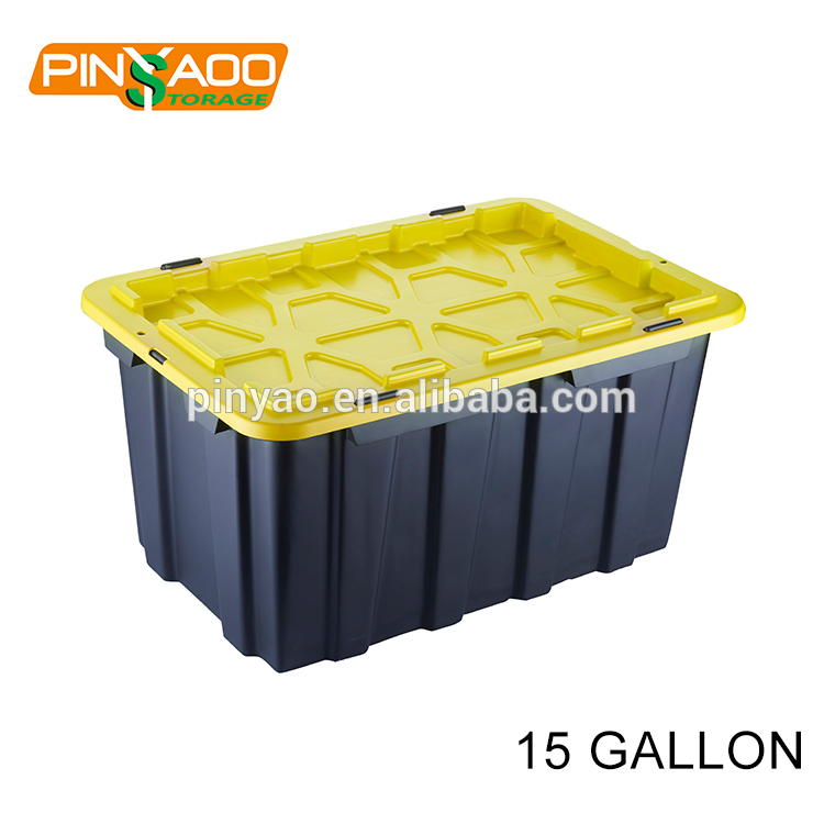 15Gallon Heavy Duty Practical 60L Home Storage Tote <strong>Plastic</strong>
