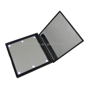 Vanity Table Lighted Mirroru0026 Square Portable Makeup Table Mirroru0026led Light  Plastic Magnifying Hand Mirror