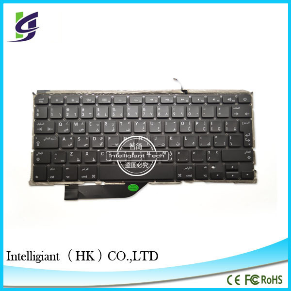 2014 original New Genuine Replace Arabic Layout Keyboard for macbook Pro A1398 15'' (15.4'') inch Retina MC975 MC976