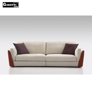 Luxury I shape 2 low seat TV sofa in living room,import sofa from china