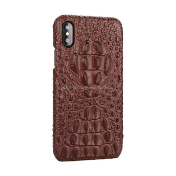 sale retailer d855c 986c0 Fashionable Alligator Genuine Leather Phone Cover For Iphone X Case,Luxury  Crocodile Leather Back Cover Case For Iphonex - Buy Genuine Leather Case ...