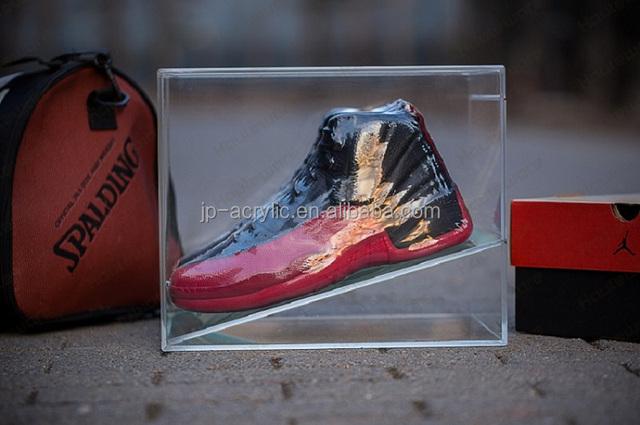 45 Grad Winkel Schritt Transparent Acryl Veranstalter Schuh Vitrine Buy Schuh Vitrine,Acryl Schuh Veranstalter,Acryl Schuh Fall Product on