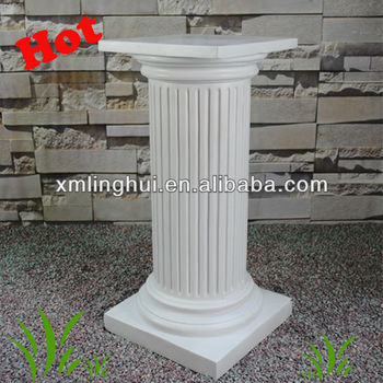 Resin White Decorative Garden Pillars Buy Decorative Garden