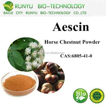 manufacturer aescin powder,horse chestnut extract 20%-98% CAS No.6805-41-0