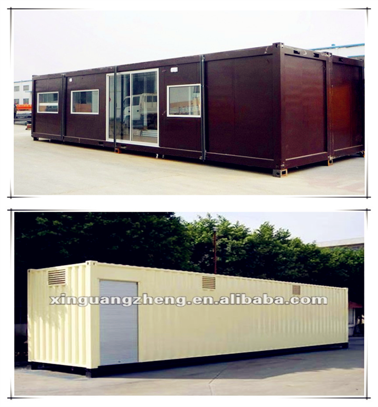 Movable modern vacation container villa house