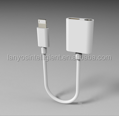 8 pin to 3.5 mm headphone convertor for iphone 7