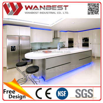 Modern White Artificial Marble Top