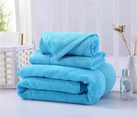 buy sale 100% Organic bamboo fiber bath towel set face towel baby face cloth made in china manfuacture promotion