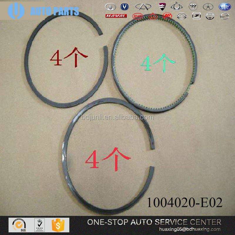 GREAT WALL SPARE PARTS 1004020-E02 PISTON RING KIT auto spare parts car car engine engine to scooter