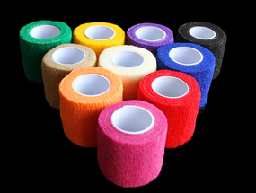Yilong Colorful cohesive elastic bandage with compression 5cm Cohesive Bandages