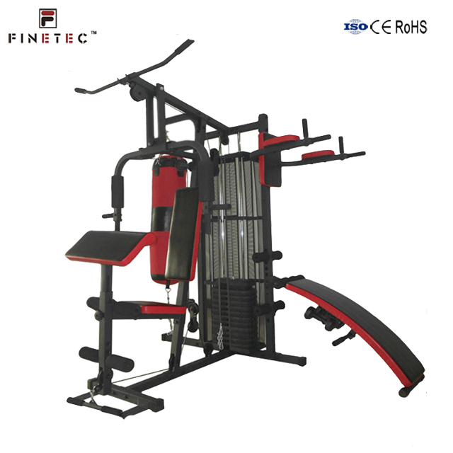 Multifunction integrated home gym with 100kgs weight