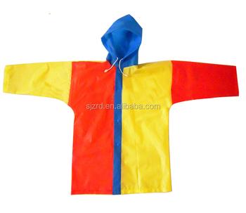 bf60addaae45 Long Peva pvc Youth Child Raincoat