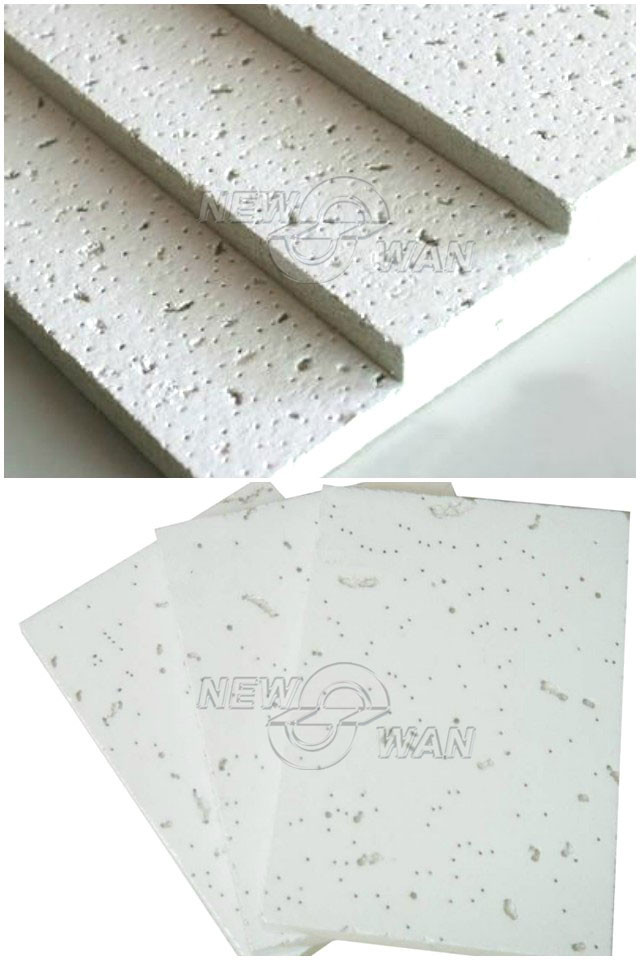 Mineral Fiber Board Acoustic Mineral Fibre Ceiling Tiles