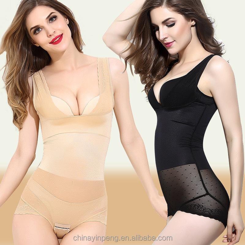 eae18ac86ffd9 women body sculpting leotard seamless hip abdomen breast care body corset