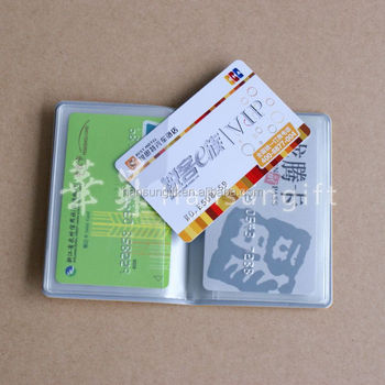 Customized Pvc Card Holder/id Card Holder/business Name Card ...
