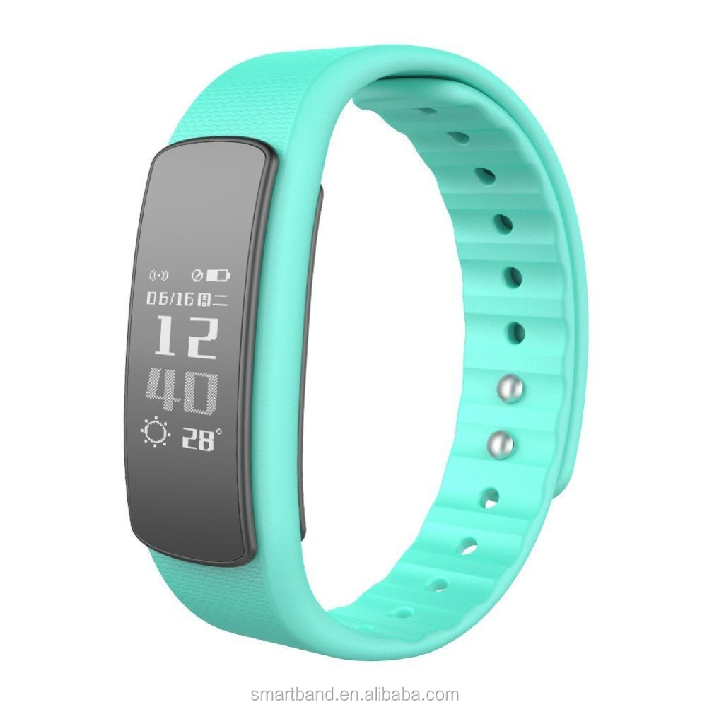 High quality fitness monitoring bracelets smart watch I6 HR Smart Wristband CE certificate