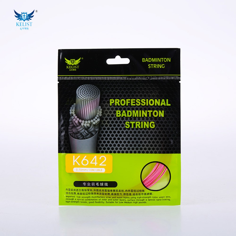 Cheap nylon badminton racket string