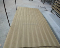 AAA grade red oak/teak/beech natural veneer laminated board(MDF/plywood)