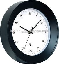 Custom plastic radio controlled modern wall clock china