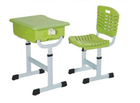 Furniture Modern ABS School Desk And Chair Adjustable School Furniture