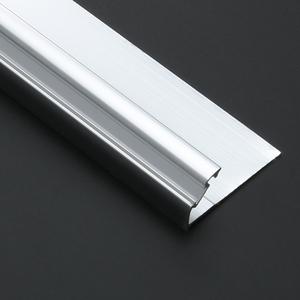 March Expo Competitive Price Ceramic Tile Square Tile Edge Trim Aluminum  Tile Trim Profile