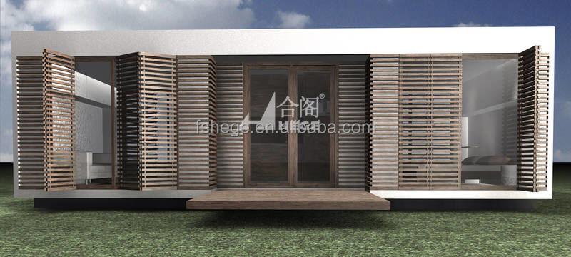 Maison bungalow container cabine maison modulaire for Maison modulaire container