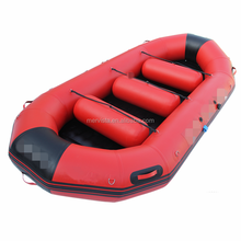 1.2mm Pvc or Hypalon Inflatable Rubber Life Raft Rafting Boat Price