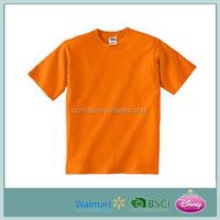 Hotseller Soft Plain Cotton Kid's T-shirt Wholesale (high quality & cheap price)
