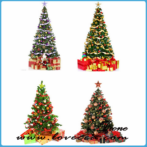 Hand Painted Ball-shaped Chirstmas artificial Tree Hanging hand painted christmas tree ornaments