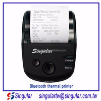 handheld receipt printer HS-584AI mobile printer thermal bluetooth sdk support android & IOS