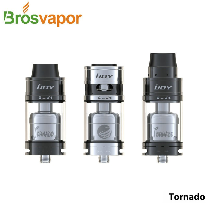 100% Original Ijoy Tornado Rdta Fit For Panzer 200w Mod/ Spartan ...