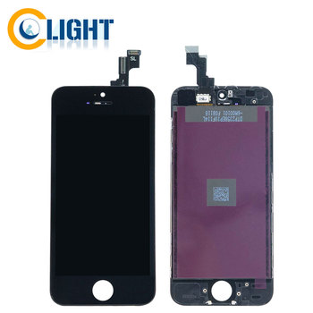 Free shipping retina LCD display for iphone SE, for iphone SE lcd screen digitizer assembly with best quality