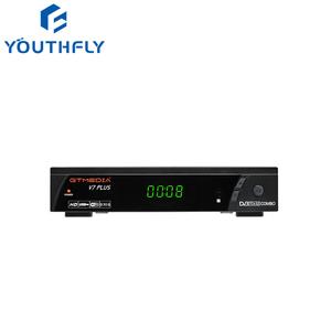 2019 Hot selling and Latest HD 1080P GTmedia V7 Plus DVB-S2/T2 free to air  FTA set top box satellite receiver