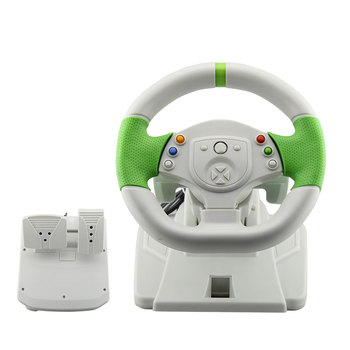 2018 Usb Game Racing Steering Wheel For Xbox 360 & Pc Games Price In China  - Buy For Xbox 360 Games,For Xbox 360 Price In China,Gamepad For Xbox 360 &