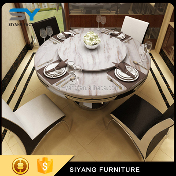 Malaysia Dining Table Set Luxurious Marble Table Tops Mdf Dining - Cost of marble table top