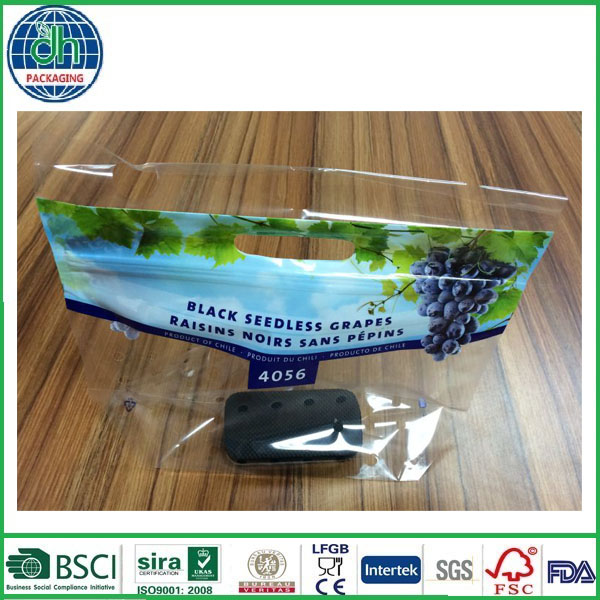 optical transparent display fruit picking bags