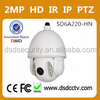 SD6A220-HN ir network speed dome with dahua rs232 ptz controller