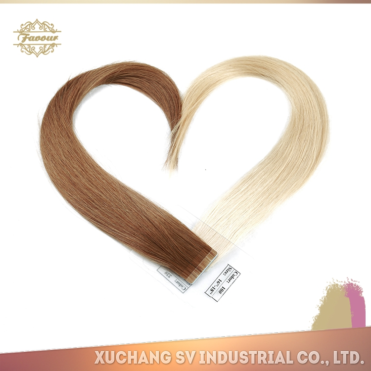 Most Popular Hair Product Russian Tape Hair Extension African American Human Tape Hair Extensions for Sale