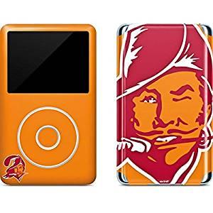 NFL Tampa Bay Buccaneers iPod Classic (6th Gen) 80 & 160GB Skin - Tampa Bay Buccaneers Retro Logo Vinyl Decal Skin For Your iPod Classic (6th Gen) 80 & 160GB
